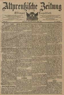 Altpreussische Zeitung, Nr. 149 Sonnabend 28 Juni 1902, 54. Jahrgang