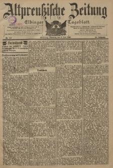 Altpreussische Zeitung, Nr. 151 Dienstag 1 Juli 1902, 54. Jahrgang