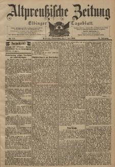 Altpreussische Zeitung, Nr. 153 Donnerstag 3 Juli 1902, 54. Jahrgang