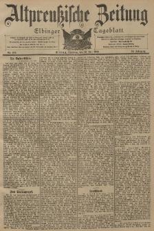 Altpreussische Zeitung, Nr. 169 Dienstag 22 Juli 1902, 54. Jahrgang