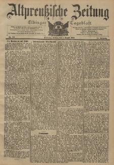 Altpreussische Zeitung, Nr. 178 Freitag 1 August 1902, 54. Jahrgang