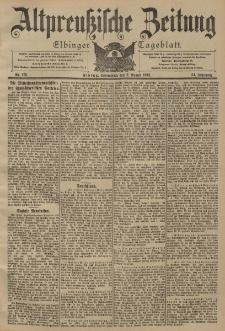 Altpreussische Zeitung, Nr. 179 Sonnabend 2 August 1902, 54. Jahrgang