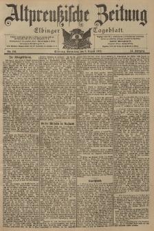 Altpreussische Zeitung, Nr. 185 Sonnabend 9 August 1902, 54. Jahrgang