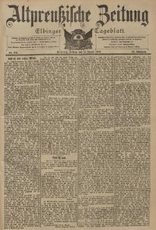 Altpreussische Zeitung, Nr. 190 Freitag 15 August 1902, 54. Jahrgang