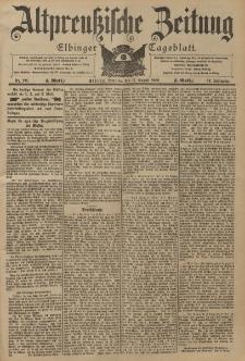 Altpreussische Zeitung, Nr. 192 Sonntag 17 August 1902, 54. Jahrgang