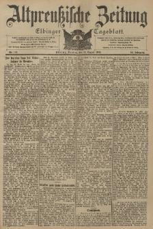 Altpreussische Zeitung, Nr. 193 Dienstag 19 August 1902, 54. Jahrgang