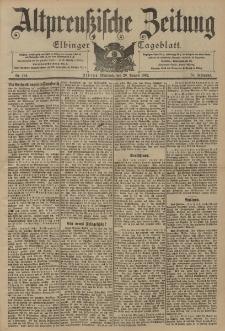 Altpreussische Zeitung, Nr. 194 Mittwoch 20 August 1902, 54. Jahrgang