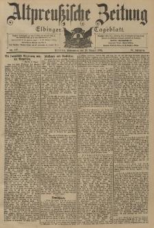 Altpreussische Zeitung, Nr. 197 Sonnabend 23 August 1902, 54. Jahrgang