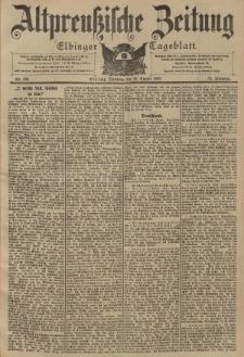 Altpreussische Zeitung, Nr. 199 Dienstag 26 August 1902, 54. Jahrgang