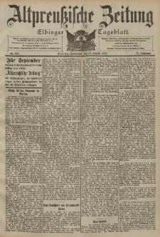 Altpreussische Zeitung, Nr. 203 Sonnabend 30 August 1902, 54. Jahrgang