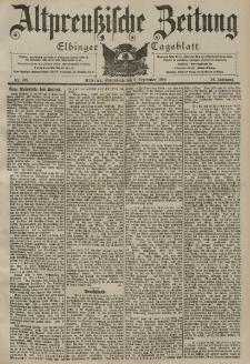 Altpreussische Zeitung, Nr. 209 Sonnabend 6 September 1902, 54. Jahrgang