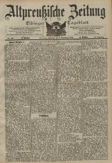 Altpreussische Zeitung, Nr. 210 Sonntag 7 September 1902, 54. Jahrgang