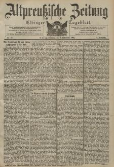 Altpreussische Zeitung, Nr. 211 Dienstag 9 September 1902, 54. Jahrgang