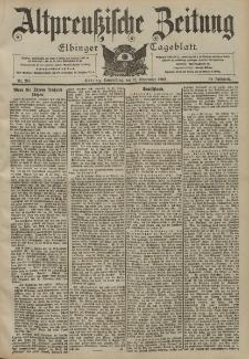 Altpreussische Zeitung, Nr. 213 Donnerstag 11 September 1902, 54. Jahrgang