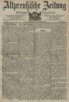 Altpreussische Zeitung, Nr. 224 Mittwoch 24 September 1902, 54. Jahrgang