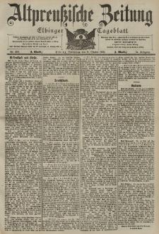 Altpreussische Zeitung, Nr. 239 Sonnabend 11 Oktober 1902, 54. Jahrgang