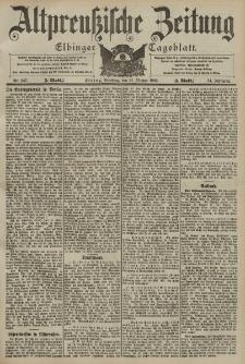 Altpreussische Zeitung, Nr. 247 Dienstag 21 Oktober 1902, 54. Jahrgang