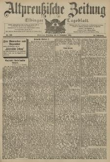 Altpreussische Zeitung, Nr. 259 Dienstag 4 November 1902, 54. Jahrgang