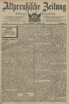 Altpreussische Zeitung, Nr. 260 Mittwoch 5 November 1902, 54. Jahrgang