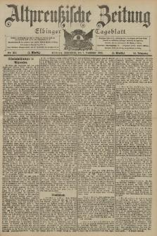 Altpreussische Zeitung, Nr. 263 Sonnabend 8 November 1902, 54. Jahrgang