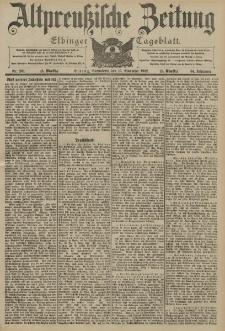Altpreussische Zeitung, Nr. 269 Sonnabend 15 November 1902, 54. Jahrgang