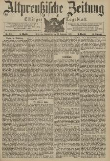 Altpreussische Zeitung, Nr. 280 Sonnabend 29 November 1902, 54. Jahrgang