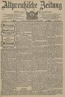 Altpreussische Zeitung, Nr. 286 Sonnabend 6 Dezember 1902, 54. Jahrgang