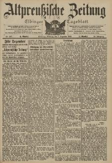 Altpreussische Zeitung, Nr. 287 Sonntag 7 Dezember 1902, 54. Jahrgang