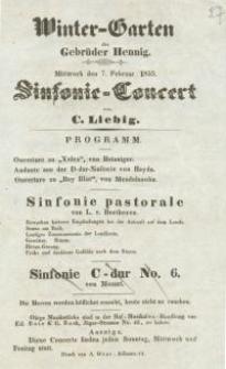 Pozycja nr 27 z kolekcji Henryka Nitschmanna : Winter - Garten der Gebrüder Hennig.