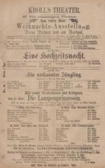 Pozycja nr 95 z kolekcji Henryka Nitschmanna : Weihnachts - Ausstellung : Unter Palmen und am Nordpol