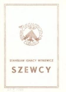 Szewcy - program teatralny