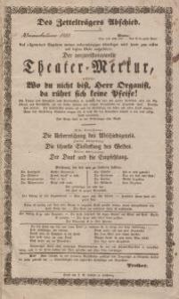 Pozycja nr 3 z kolekcji Henryka Nitschmanna : Theater - Merkur
