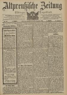 Altpreussische Zeitung, Nr. 298 Sonnabend 20 Dezember 1902, 54. Jahrgang