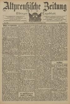Altpreussische Zeitung, Nr. 300 Dienstag 23 Dezember 1902, 54. Jahrgang