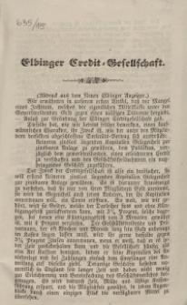 Elbinger Credit-Gesellschaft