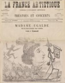 Pozycja nr 50 z kolekcji Henryka Nitschmanna : Madame Ugalde - role du Prince-Charmant dans Cendrillon - J. Pearon