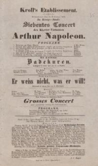 "Pozycja nr 35 z kolekcji Henryka Nitschmanna : ""Badekuren"" ; ""Er weiss nicht, was er will!"""