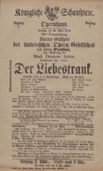 """Pozycja nr 163 z kolekcji Henryka Nitschmanna : """"Der Liebestrank"""""""