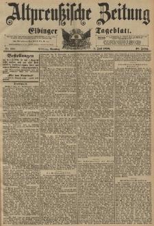 Altpreussische Zeitung, Nr. 156 Sonntag 5 Juli 1896, 48. Jahrgang