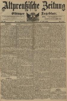 Altpreussische Zeitung, Nr.161 Sonnabend 11 Juli 1896, 48. Jahrgang