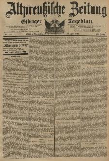 Altpreussische Zeitung, Nr.177 Donnerstag 30 Juli 1896, 48. Jahrgang