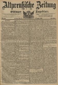 Altpreussische Zeitung, Nr.181 Dienstag 4 August 1896, 48. Jahrgang