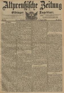 Altpreussische Zeitung, Nr.182 Mittwoch 5 August 1896, 48. Jahrgang