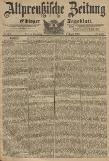 Altpreussische Zeitung, Nr.183 Sonntag 2 August 1896, 48. Jahrgang