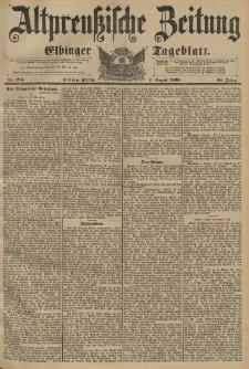 Altpreussische Zeitung, Nr.184 Freitag 7 August 1896, 48. Jahrgang