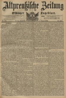 Altpreussische Zeitung, Nr.185 Sonnabend 8 August 1896, 48. Jahrgang