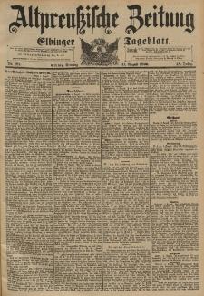 Altpreussische Zeitung, Nr.187 Dienstag 11 August 1896, 48. Jahrgang