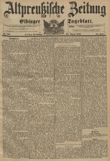 Altpreussische Zeitung, Nr.195 Donnerstag 20 August 1896, 48. Jahrgang