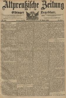 Altpreussische Zeitung, Nr.198 Sonntag 23 August 1896, 48. Jahrgang