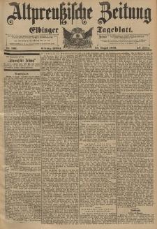 Altpreussische Zeitung, Nr.202 Freitag 28 August 1896, 48. Jahrgang